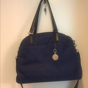 Lo & Sons OMG Navy Blue Travel Bag